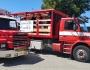 2 stk. Scania melder klar ved Rønde gym.